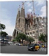 Sagrada Familia Barcelona Canvas Print