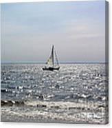 Sail Alone Canvas Print