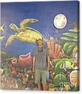 Sailfish Splash Park Mural 7 Canvas Print