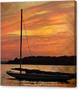 Sailin' On Dewey Canvas Print