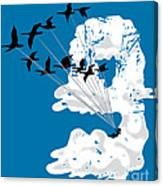 Sailing Cloud Nine Canvas Print