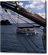 Sailing Coastal Maine Canvas Print