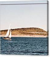 Sailing On Carter Lake Canvas Print