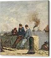Sailors Canvas Print