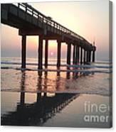 Saint Augustine Beach Sunrise Canvas Print