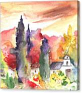 Saint Bertrand De Comminges 07 Canvas Print