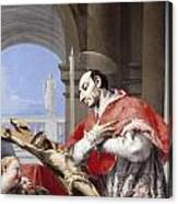 Saint Charles Borromeo Canvas Print