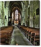 Saint Emilion Church Canvas Print