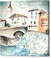 Saint Girons 02 Canvas Print