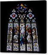 Saint Johns Stained Glass Canvas Print