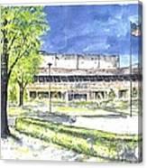 Saint Joseph Catholic High School Canvas Print