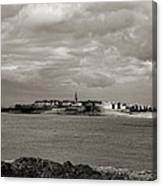 Saint-malo From Dinard. Canvas Print