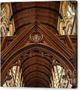 Saint Marys Church Interior 1 Canvas Print