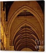 Saint Marys Church Interior 2 Canvas Print