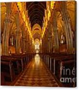 Saint Marys Church Interior 3 Canvas Print