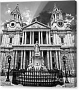 Saint Paul's Cathedral Canvas Print