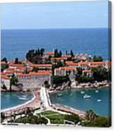 Saint Stephen In Montenegro Canvas Print