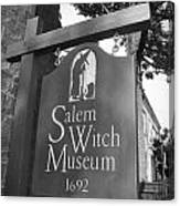 Salem Witch Museum Canvas Print