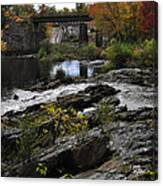 Salmon Falls Sfp Canvas Print