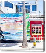 Salt Water Taffy Panorama Balboa California Canvas Print
