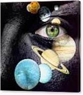 Same Universe Canvas Print