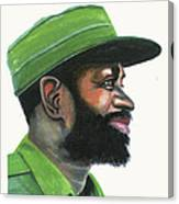 Samora Moises Machel Canvas Print