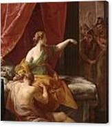 Samson And Delilah Canvas Print
