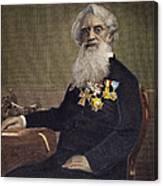 Samuel F.b. Morse (1791-1872) Canvas Print