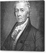 Samuel Latham Mitchill Canvas Print