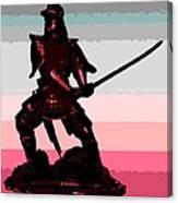 Samurai Sunrise Canvas Print