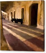San Cristobal Shadows Canvas Print