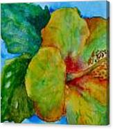 San Diego Hibiscus Study I Underwater Canvas Print