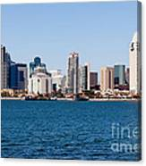 San Diego Skyline Buildings Canvas Print