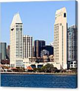San Diego Skyscrapers Canvas Print