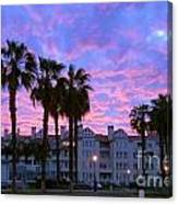 San Diego Sunset Canvas Print