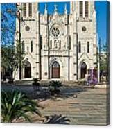 San Fernando Cathedral Canvas Print