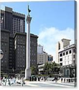 San Francisco - Union Square - 5d17933 Canvas Print