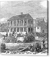 San Francisco, 1850 Canvas Print