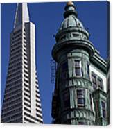 San Francisco Buildings Canvas Print