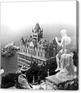 San Francisco Cliff House Canvas Print
