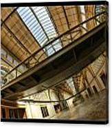San Francisco Ferry Building Walkway Canvas Print