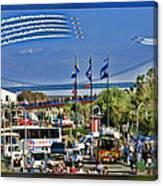 San Francisco Fleet Week 2011 Canvas Print