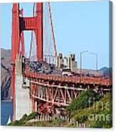 San Francisco Golden Gate Bridge . 7d8151 Canvas Print