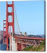 San Francisco Golden Gate Bridge . 7d8157 Canvas Print