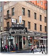 San Francisco Marquards Little Cigar Store On Powell Street - 5d17950 - Painterly Canvas Print