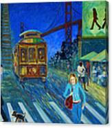 San Francisco Moments Canvas Print