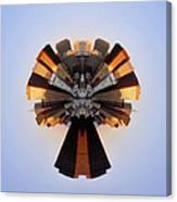 San Francisco Samourai - Stereographic Canvas Print