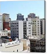 San Francisco Skyline . 7d7490 Canvas Print