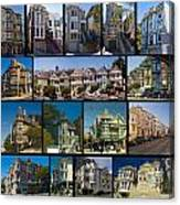 San Francisco Victorians 2 Canvas Print