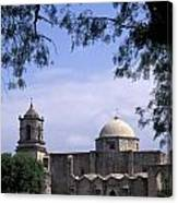 San Jose Mission San Antonio Texas Canvas Print